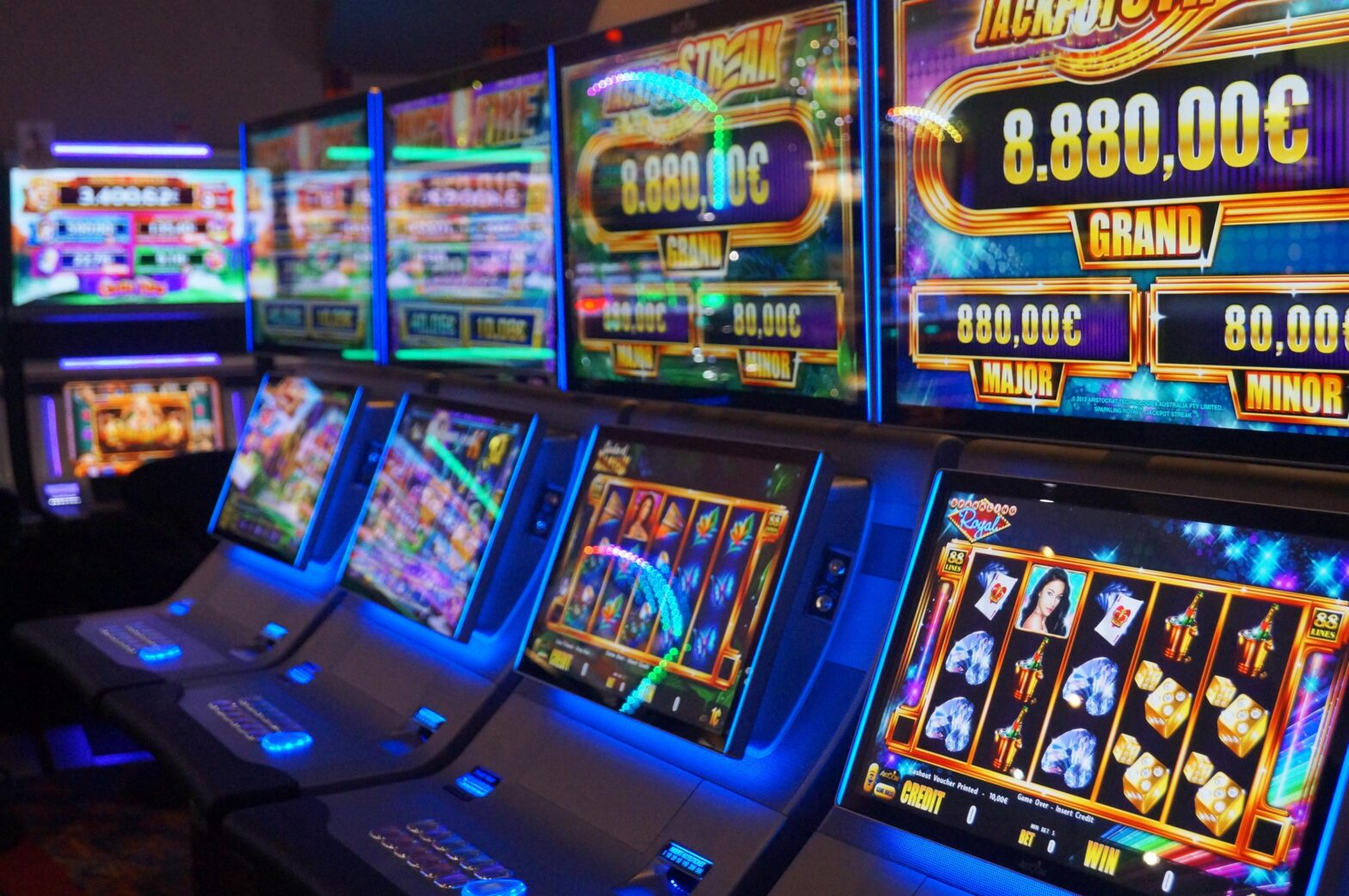 tous les casinos en ligne